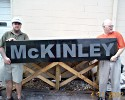 McKinley black granite office sign